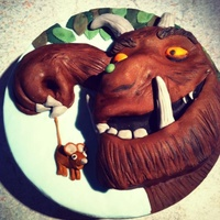 The Gruffalo Cake For Those Of You Who Are Unsure Of Who He Is Hes A Character In A Book The gruffalo cake. For those of you who are unsure of who he is, he's a character in a book.