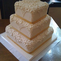 Square Cake I Used A Set Of Cutters To Create This Cascading Design This Was My First Ever Cake Like To Make Things Hard For Myself Square cake, I used a set of cutters to create this cascading design. This was my first ever cake! Like to make things hard for myself.