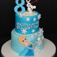 Frozen Theme Birthday Cake Frozen Theme Birthday Cake