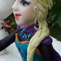 Frozen : Princess Elsa And Olaf My daughter's birthday party was supposed to have been this weekend but has been postponed to next month but I couldn't...