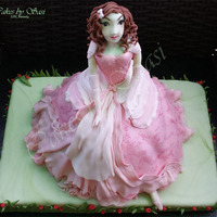 A Doll For My Little Princess.. A handmade Doll Cake for my Princess