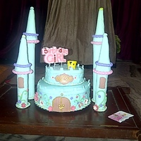 My Second Attempt At Fondant Cakesa Castle Cake For My Daughters 10Th Birthdaythanks To All The Insipiration Here At Cc N Youtube Vide My second attempt at fondant cakes...A Castle cake for my daughters 10th birthday...thanks to all the insipiration here at Cc n youtube...