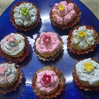 Cup Cakes I have just discovered the joy of baking n this is my first attempt at baking cupcakes