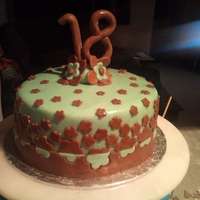 Lauren's 18Th Birthday Cake