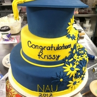 Nau Graduation   Blue and Gold for NAU