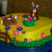 Easter Bunnies- My First Cake