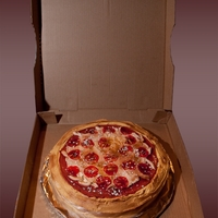 Pizza Guy's Birthday Cake
