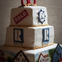 Real Estate Retirement Cake