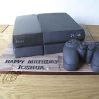 "10 Fuit Cake Playstation With A Confused Controller Looks More Like An Xbox Controller Than Playstation Lol 10"" fuit cake playstation, with a confused controller ;) looks more like an xbox controller than playstation lol"