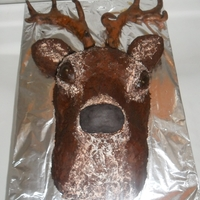 Stags Head stags head cake