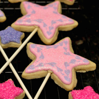Princess Cookies Every princess needs a wand, preferably an edible one! Learn step-by-step how to make princess wand cookies for your next princess party.