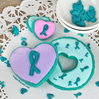 Homemade Cancer Awareness Ribbon Sprinkles With homemade cancer awareness ribbon sprinkles, it's easy to use sweets to help raise awareness for a cause close to your heart.