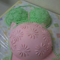 Belly Cake This is my first time making this cake