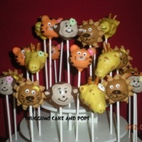 Animal Safari Cake Pops Animal safari cake pops