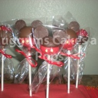 Mickey Mouse Cake Pops Mickey Mouse cake pops
