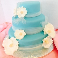 Quinceanera Cake Fondant With Gumpaste Flowers Quinceanera Cake.... Fondant with Gumpaste Flowers
