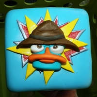 Agent P Perry The Platypus Cake Phineas And Ferb