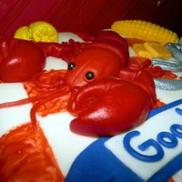 Lobster Deployment Cake