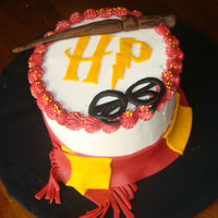 Harry Potter Birthday Cake Cake I made for daughter in law for her birthday.