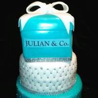 Tiffany And Co Cake For Baby Shower *tiffany and co cake for baby shower