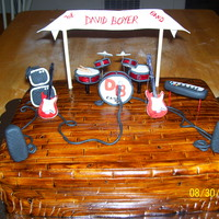 Stage Birthday Cake