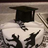 Black And White Graduation
