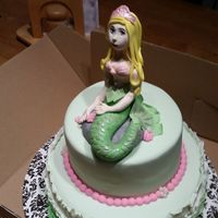 Meraid Fondant mermaid