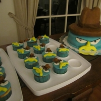 Perry Cake And Cupcakes