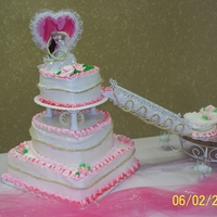 Jenna's Wedding Cake