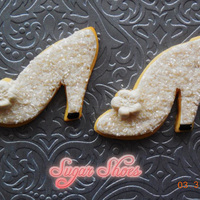 Wedding Shoe Cookies 2