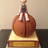 Basketballer Made for a 10yo who loves and plays basketball.