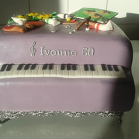 Piano For A Woman Who Also Likes To Paint And Playing Table Tennis