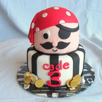Ahoy Mateys Little Pirate Birthday Cake Ahoy Mateys!Little Pirate birthday cake