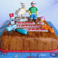 Handy Manny Birthday Cake Handy Manny Birthday Cake