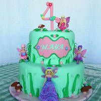 Fairy Princess Cake Fairy Princess Cake