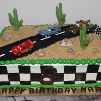 Cars Themed Cake CARS themed cake.
