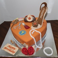 Fashion Inspired Shoe Cake Fashion Inspired Shoe Cake.