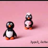 Run Away Groom Penguin Cake Topper