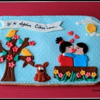 Big Cookie Decoration For Lovers