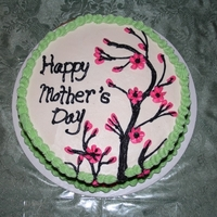 Mother's Day Cake!   Simple Mother's Day cake I made for fun :)
