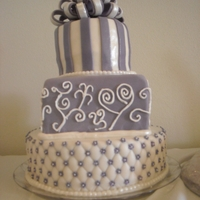 Wedding Purple Cake