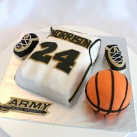 West Point Basketball Cake West Point basketball cake