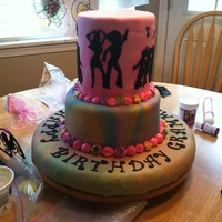 I Snapped This Photo As Soon As I Completed The Cake Sorry For The Messy Background Upon Delivery There Was A Disco Ball On Top But I For  I snapped this photo as soon as I completed the cake, sorry for the messy background. Upon delivery there was a disco ball on top but I...