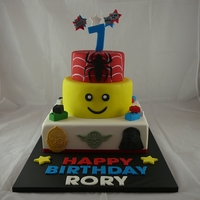 3 Tier Toy Themed Cake