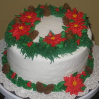 Gingerbread Cake With Buttercream Icing   Gingerbread cake with buttercream icing