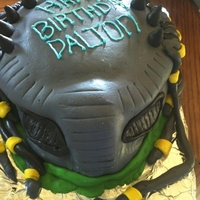Predator Cake This is the third cake I have made since I made my first for my little boys 5th Birthday in April. I have fallin in love with cake in a...