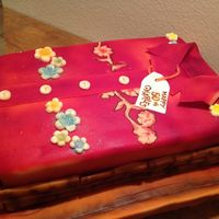 Bamboo Hawaiian Shirt Birthday Cake Bamboo, Hawaiian Shirt, Birthday Cake
