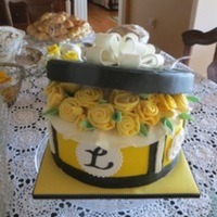 Hatbox Cake Sharon Zambito Boxes And Bows Dvd Fondant Ribbon Roses Colette Peters Youtube Fondant Giant Bow Wilton Class 3 Hatbox cake (Sharon Zambito/ Boxes and Bows DVD), fondant ribbon roses (Colette Peters/ YouTube), fondant giant bow (Wilton Class 3).