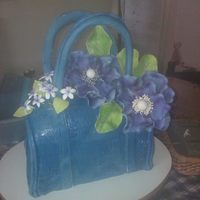 My First Purse Cake For A Fashionistas 30Th Birthday *My first purse cake for a fashionista's 30th birthday :)