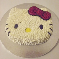 Hello Kitty Face Cake